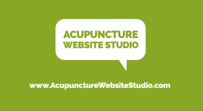 Acupuncture Website Studio